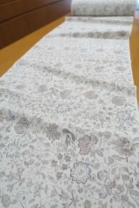 白地カチン更紗小紋1